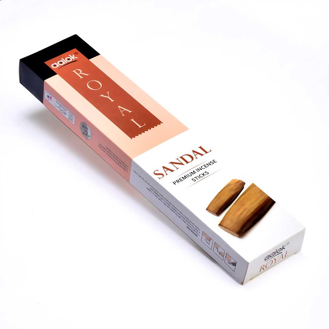 Aalok Royal Sandal premium Incense Sticks\Agarbatti